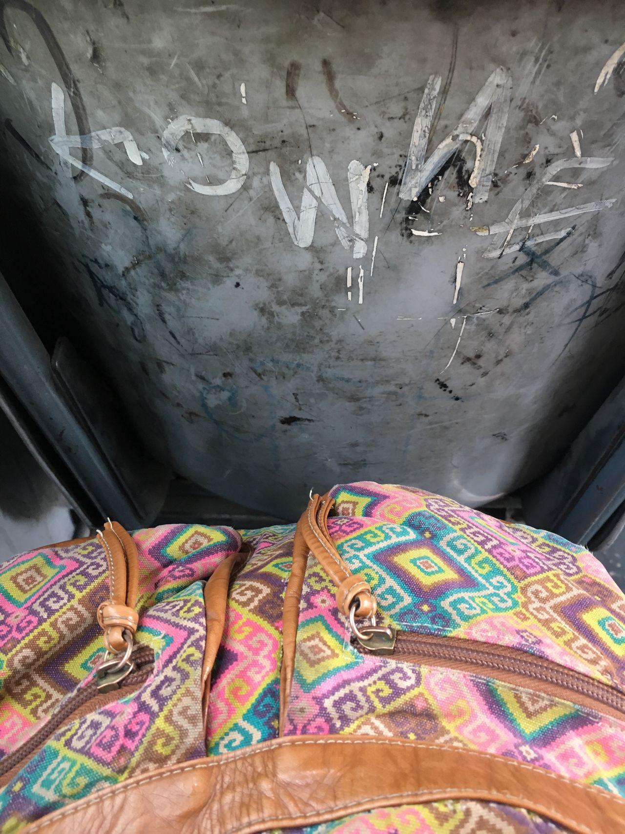 Multi Colored No People Close-up Day Transport Bus Disfrutando De La Vida
