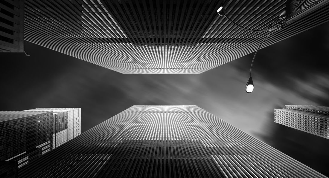 Architecture Blackandwhite Fine Art Photography Manhattan Modern New York City Skyscraper Welcome To Black