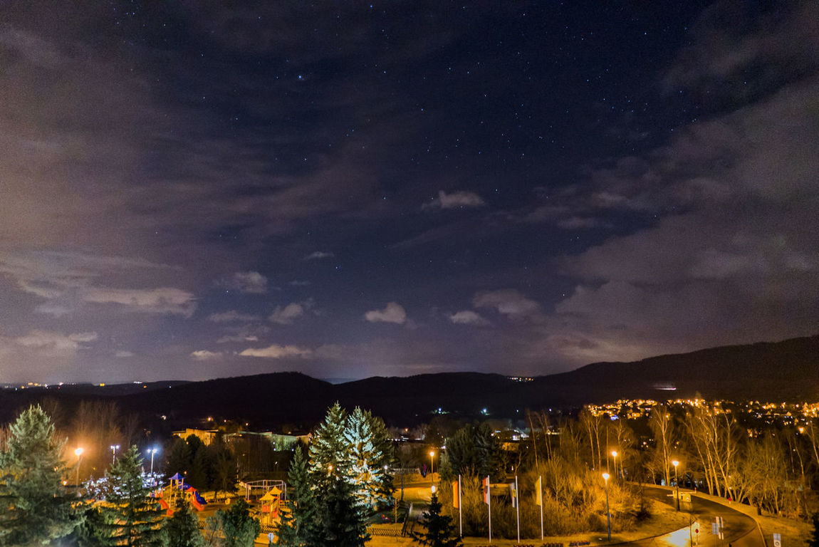 Astronomy Building Exterior City Cloud - Sky Illuminated Landscape Mountain Night Night Lights Night Photography Nightphotography Scenics Sky Star - Space Village
