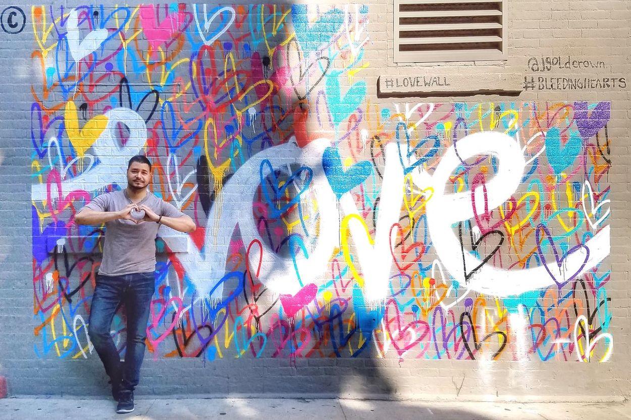 Ajgoldcrown NYC Street Photography NYC Street NYC Photography Streetphotography Street Photography Street Enjoying Time Captured Moment Enjoying The View Enjoying The Sights Enjoying The Moment Capture The Moment Enjoying Life Places I've Been Lovewall Bleedinghearts Hearts NYC Love Beautiful Day Graffiti Graffiti Wall Art Wall ArtWork