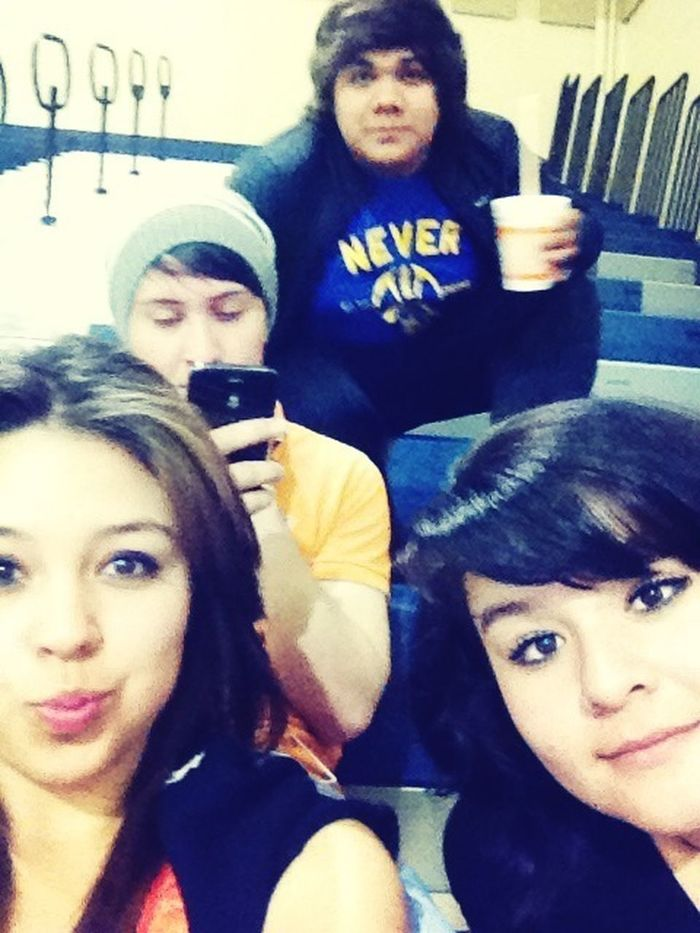Basketball game with the friends <3