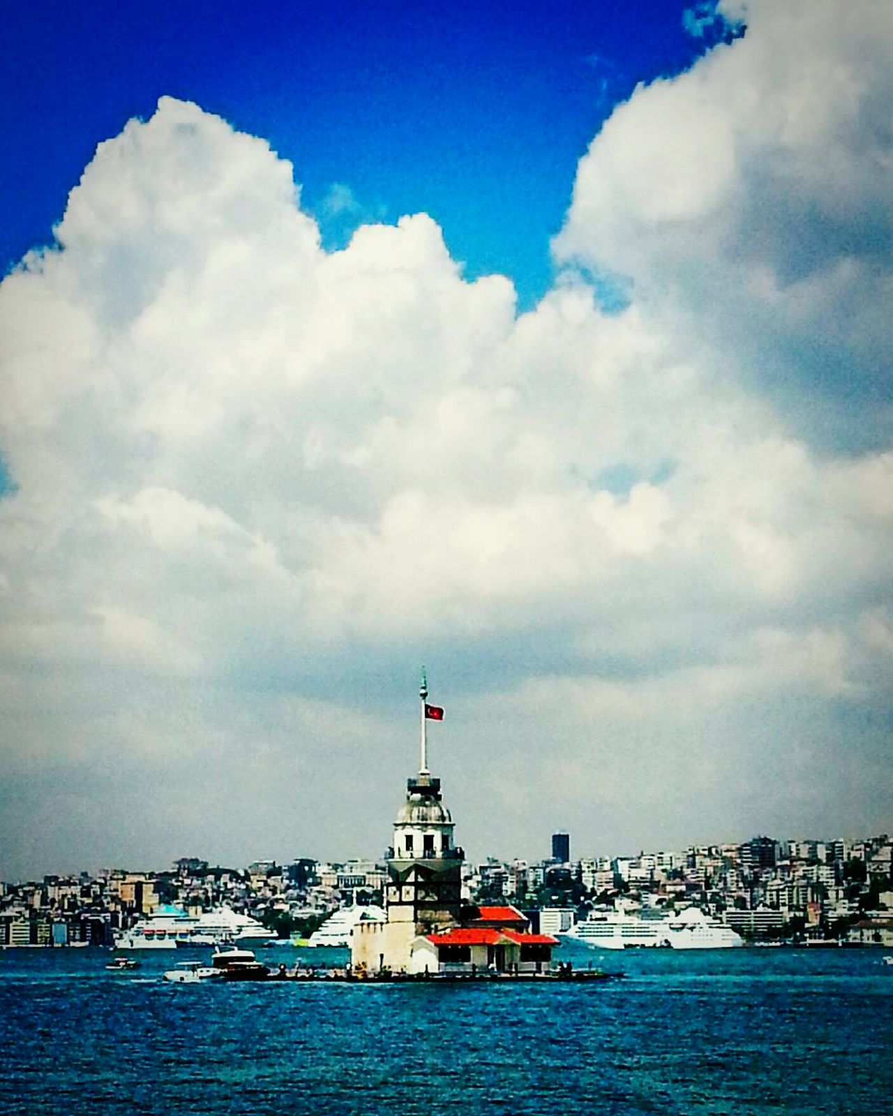 Kizkulesi PhotoByMuratGul Istanbul Turkey Bosphorus