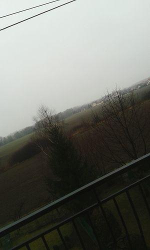 Cold morning Winter Poland
