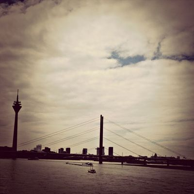 Taking Photos at Rhein River by Gaurav