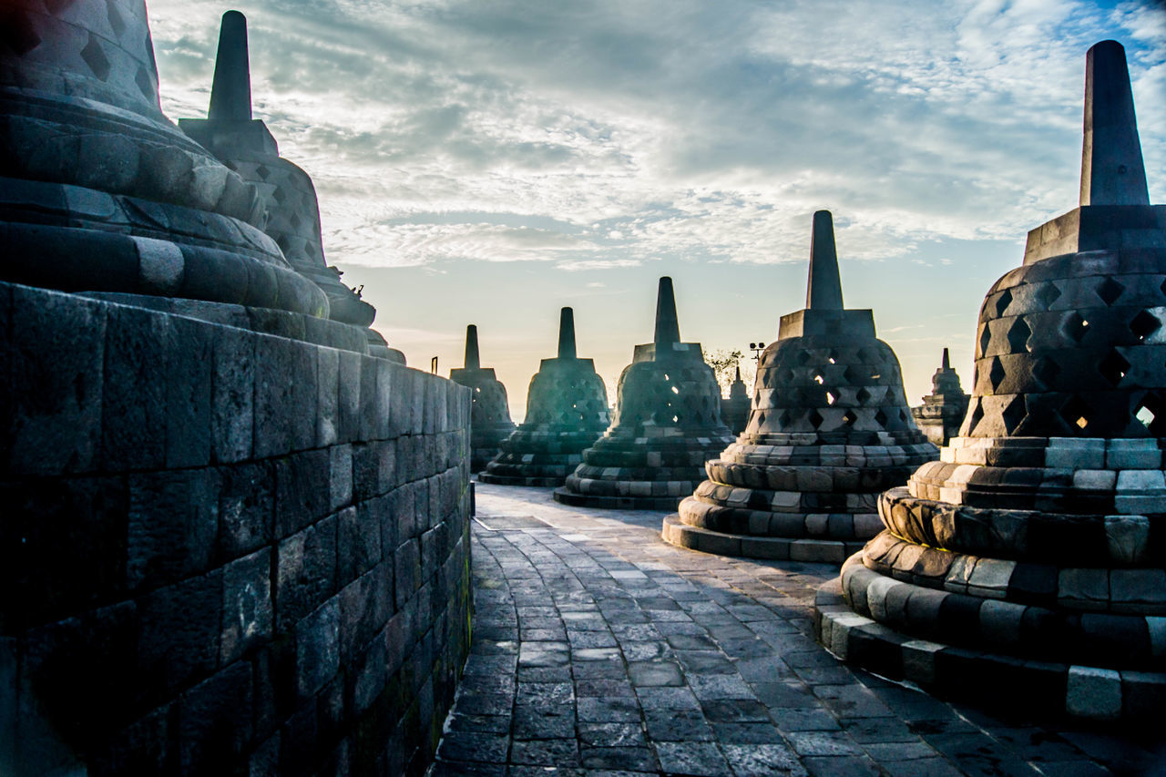 Beautiful stock photos of indonesia, Architecture, Borobudur, Buddhism, Built Structure