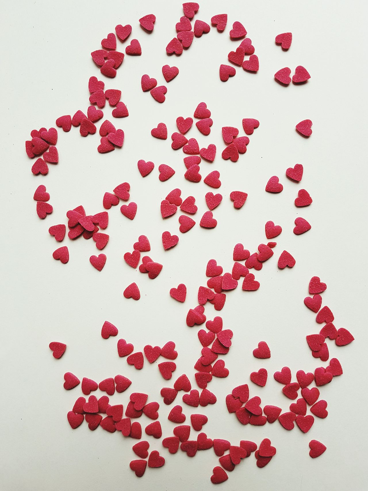 Hearts Love Romantic Heart Shape Red Hearts Variation White Background No People Indoors  Close-up Day