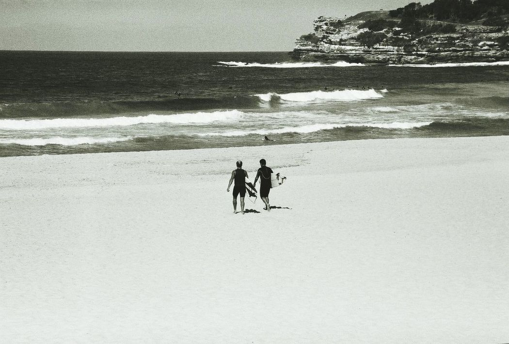 Sport In The City Bondi Beach Sidney Australia Winter Surf