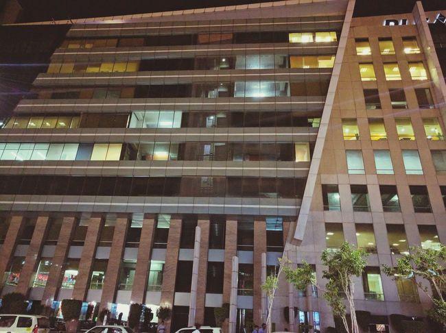 Office Office Building Gurgaon Gurgaon Skyline Gurgaon , India Youtube Google Night Nexus Nexus6P Nexus 6p Photography