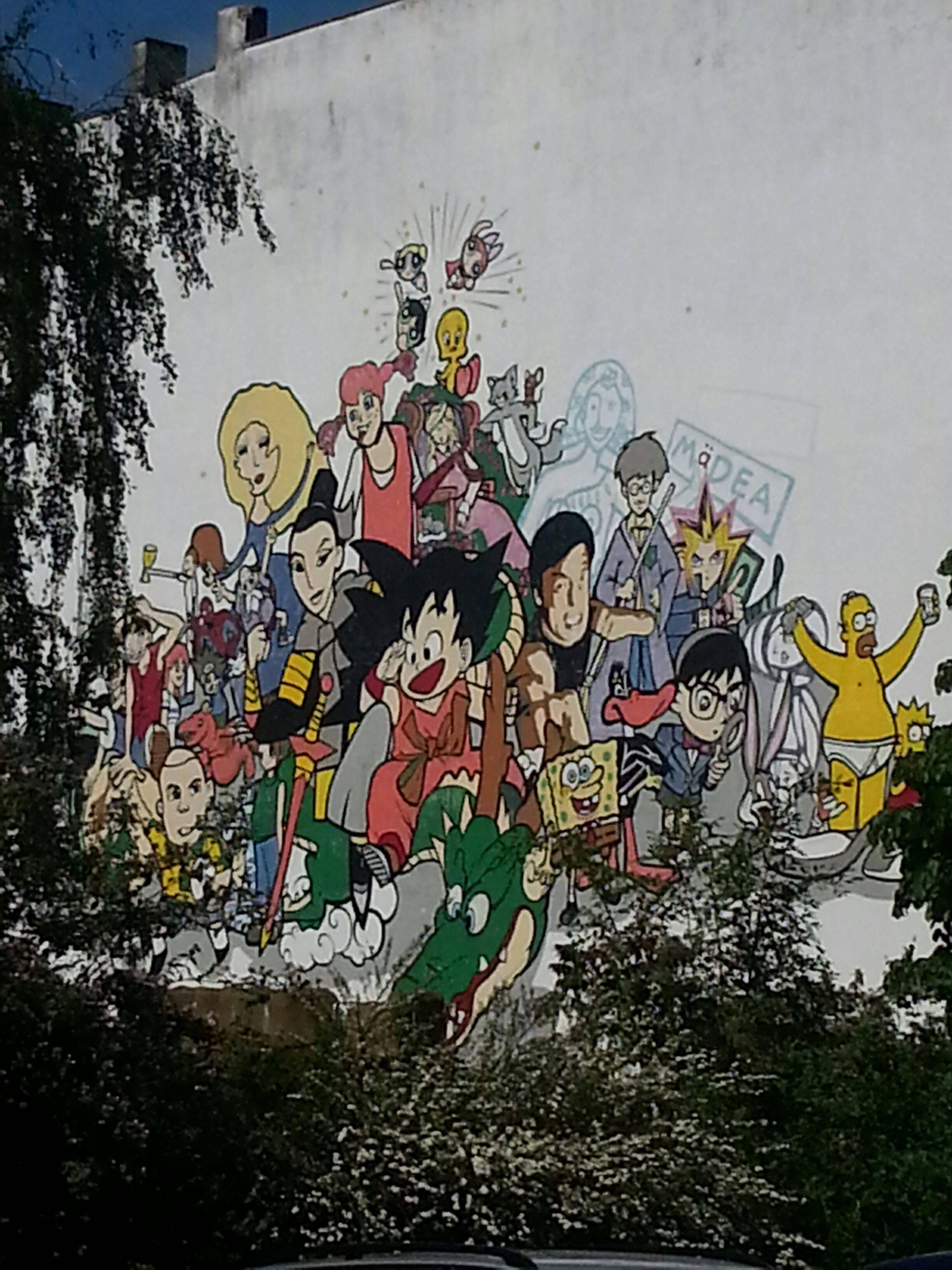 Wall of Cartoon