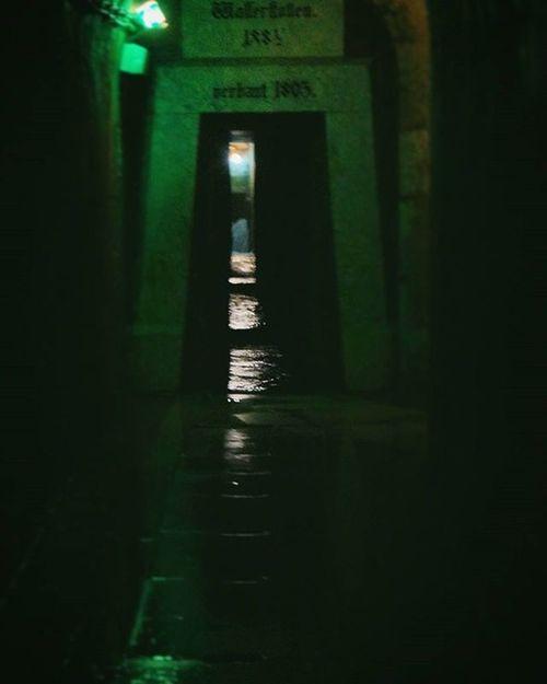 Creepy and Cold . The Tunneling System . Beautiful Architecture and Design . under the AlteSaline OldSaltWorks SaltRefinery . Salz Salt Museum . Badreichenhall Bavaria Bayern Deutschland Germany . Taken by my Sonyalpha DSLR Dslt A57 . متحف ملح بايرن المانيا