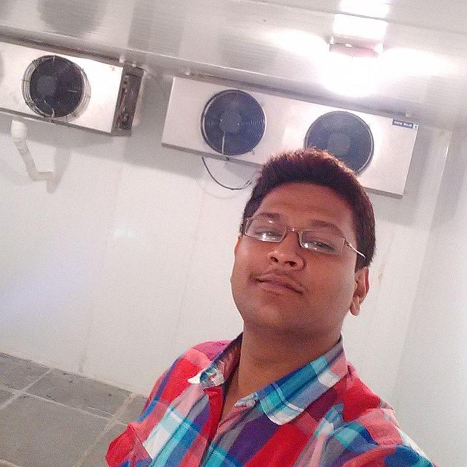 Selfie @ - 7°C Amul Coldroom Testing