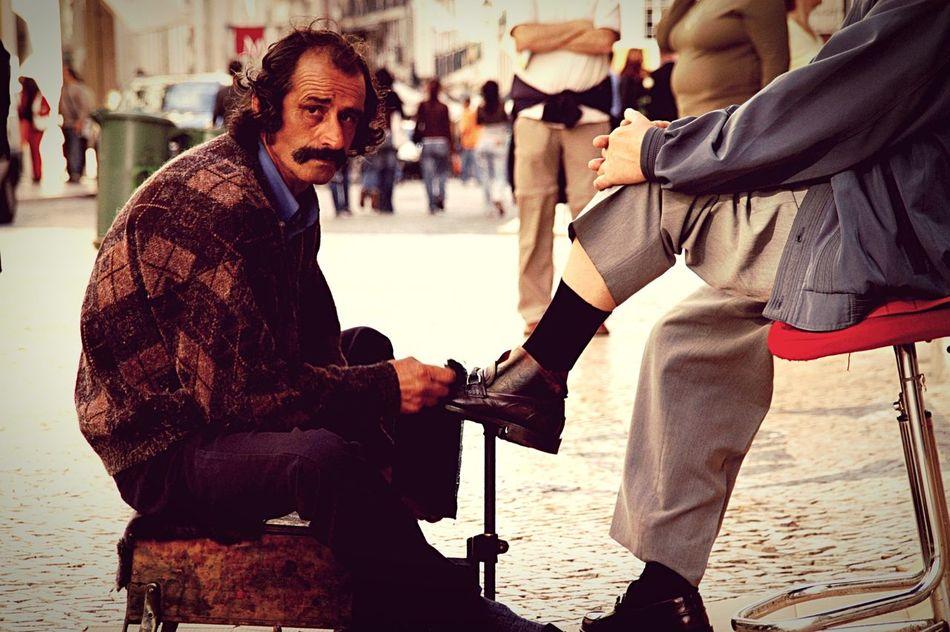 Schuhe zeigen den Charakter... People Photography Peoplephotography People Traveling Lissabon Lisboa Portugal