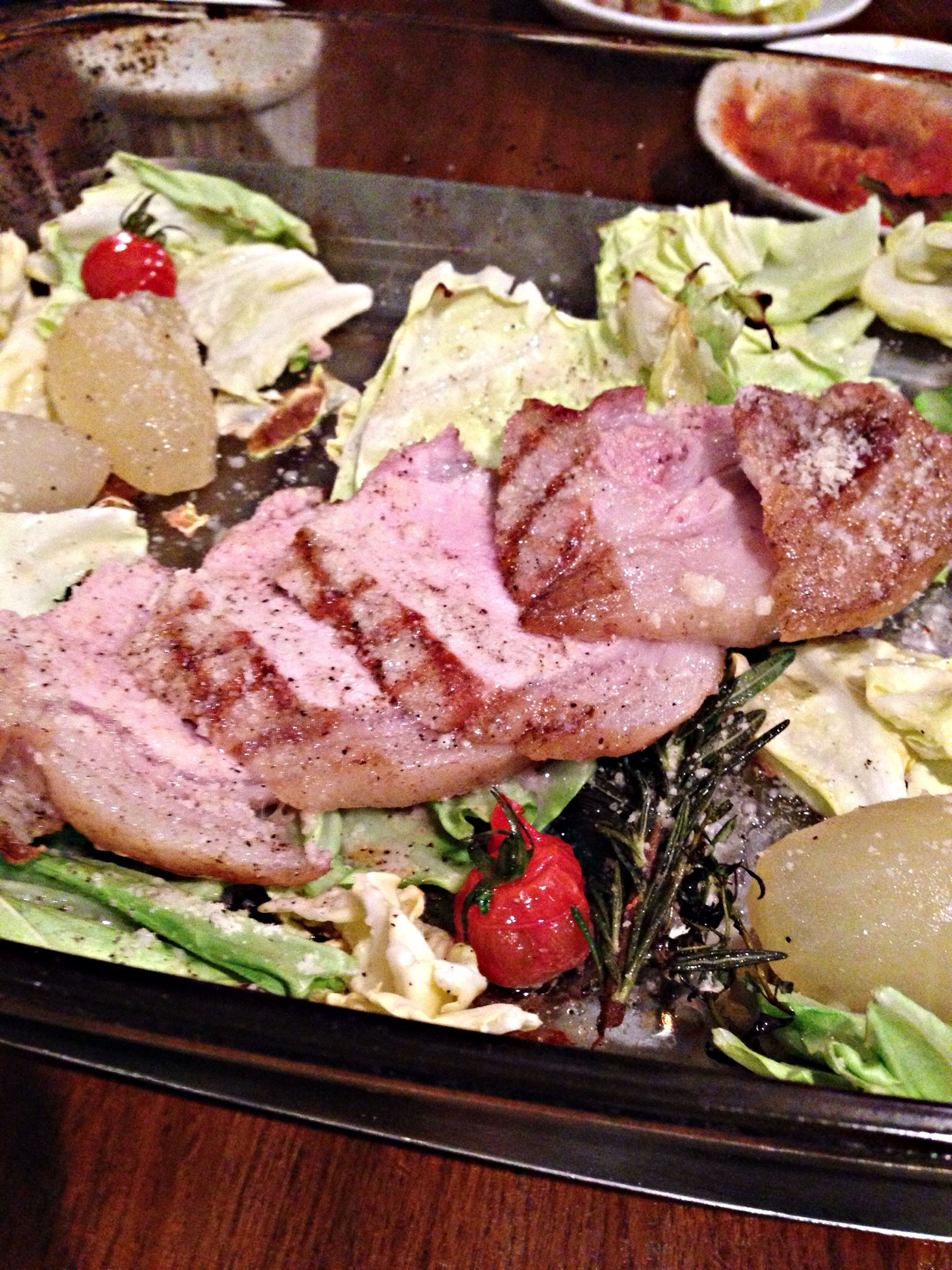 ここの豚肉料理は、本当に美味しいです。