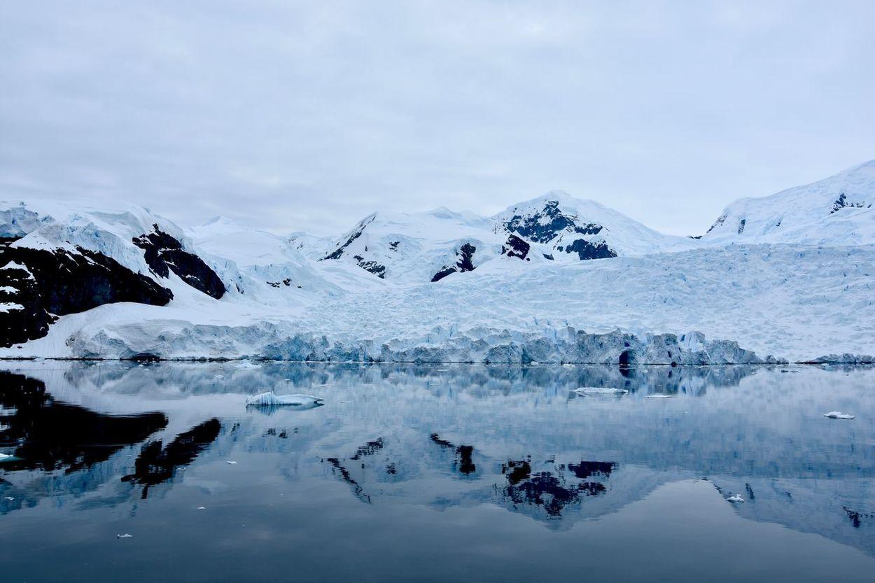 Antarctic Antarctic Peninsula Antarctica Cloudy Freezing Glacier Glaciers Horizon Over Water Ice Iceberg Iceberg - Ice Formation Icebergs Mountains Mountains And Sky Ocean Polar  Polar Climate Reflections Reflections In The Water Sea Sea And Sky Snow Snowcapped Mountain Winter Winter Wonderland