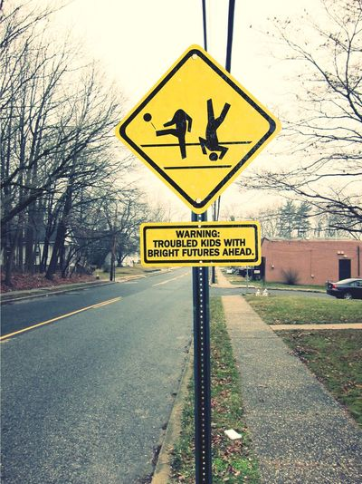 Street Sign Reimagined Photoshop Edit Surrealism Road Sign Outdoors No People Day