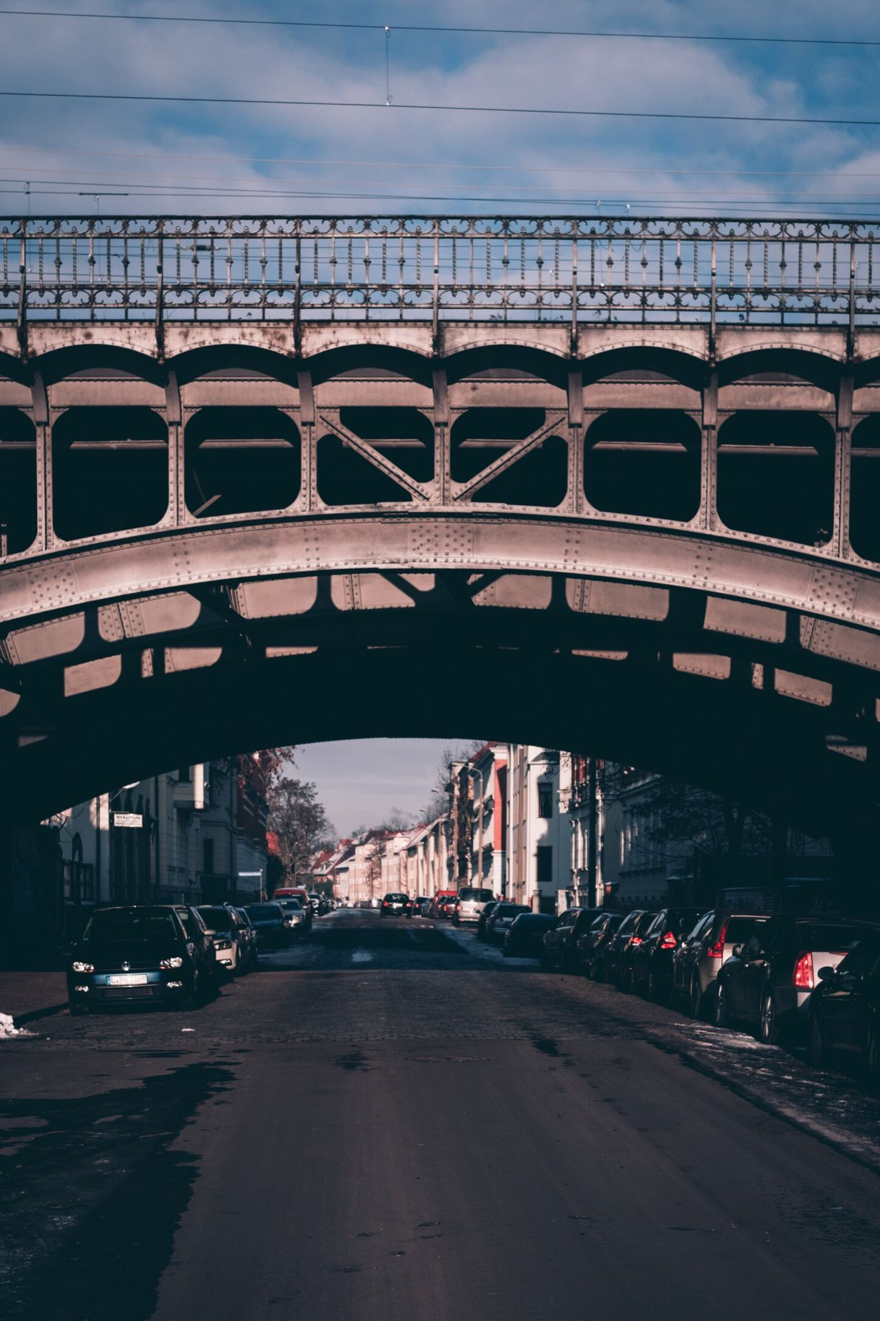 Adapted To The City Architecture Built Structure City Transportation Car Building Exterior Outdoors Bridge - Man Made Structure Travel Destinations Road Land Vehicle Sky Arch Day People