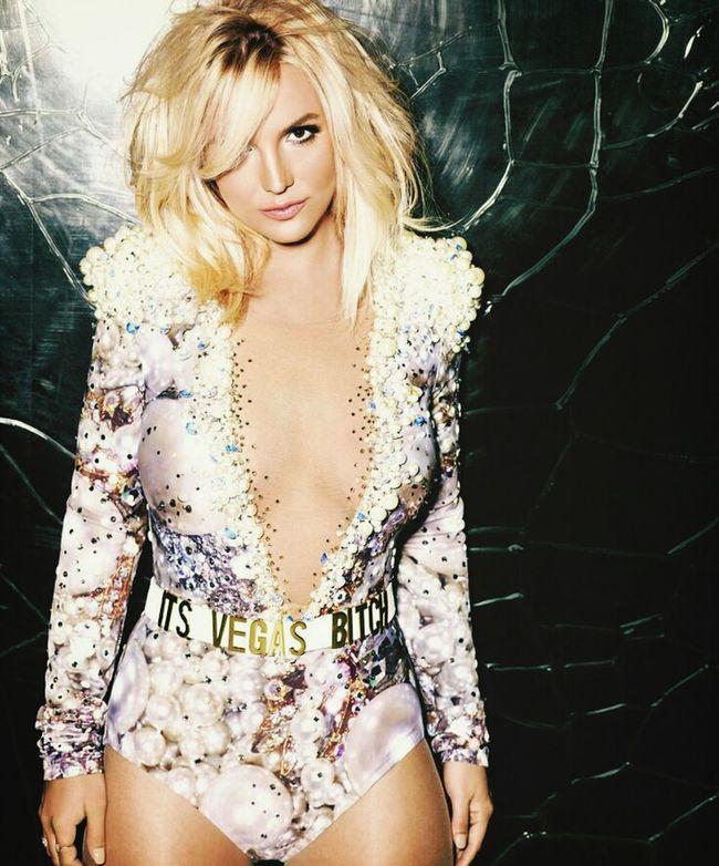 Relaxing Britney Spears