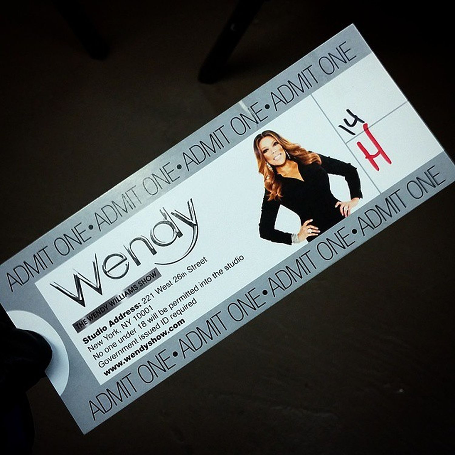 Good Morning... It's About That Time. WendyAudience Wendywilliamsshow NYC Letsgo