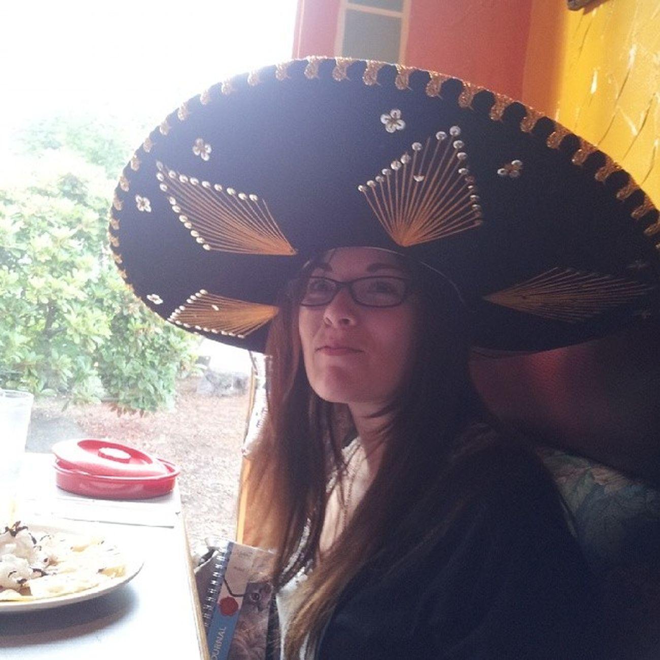 BirthdaySombrero for the noodle.. Happy17 Happybday HappyBirthday loveyou instagrammy instagood instafame