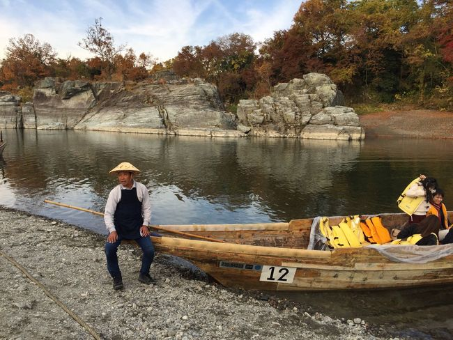 Nagatoro, a Japanese hidden gem. Rocks Nagatoro The Purist (no Edit, No Filter) Check This Out Nature Traveling Tadaa Community Discover Your City Autumn Japanese Culture Travel Boat My Year My View Miles Away The Portraitist - 2017 EyeEm Awards