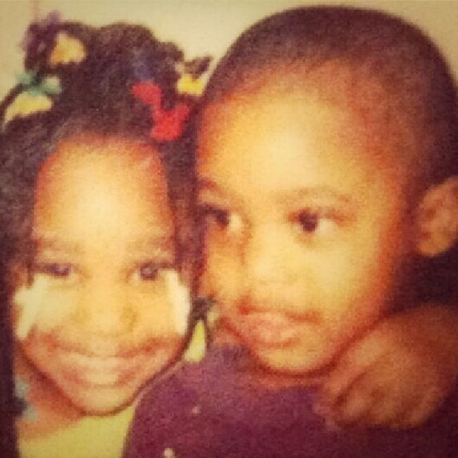 Me Nd My Twin Cuzzin Back In Da Days
