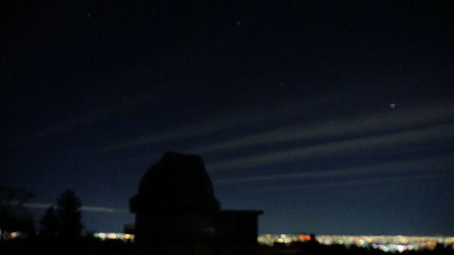 Nightsky Nightview Cloudandstars Observatory Doudaira Saitama Tokigawa