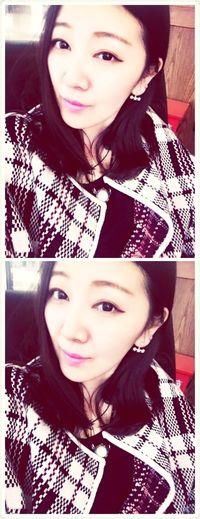 我可以说我超爱我在韩国买的这件外套吗?爱惨了?还有我滴小耳钉 也超爱!