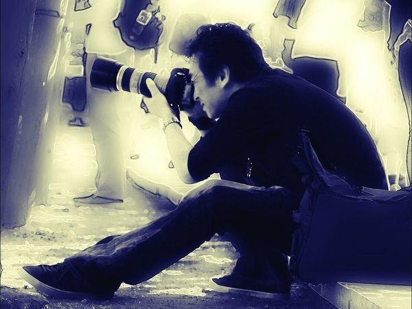 心の声は、そこどいて~ CameraMan Japanese  People Photography あとは頼んだ オレ様💕