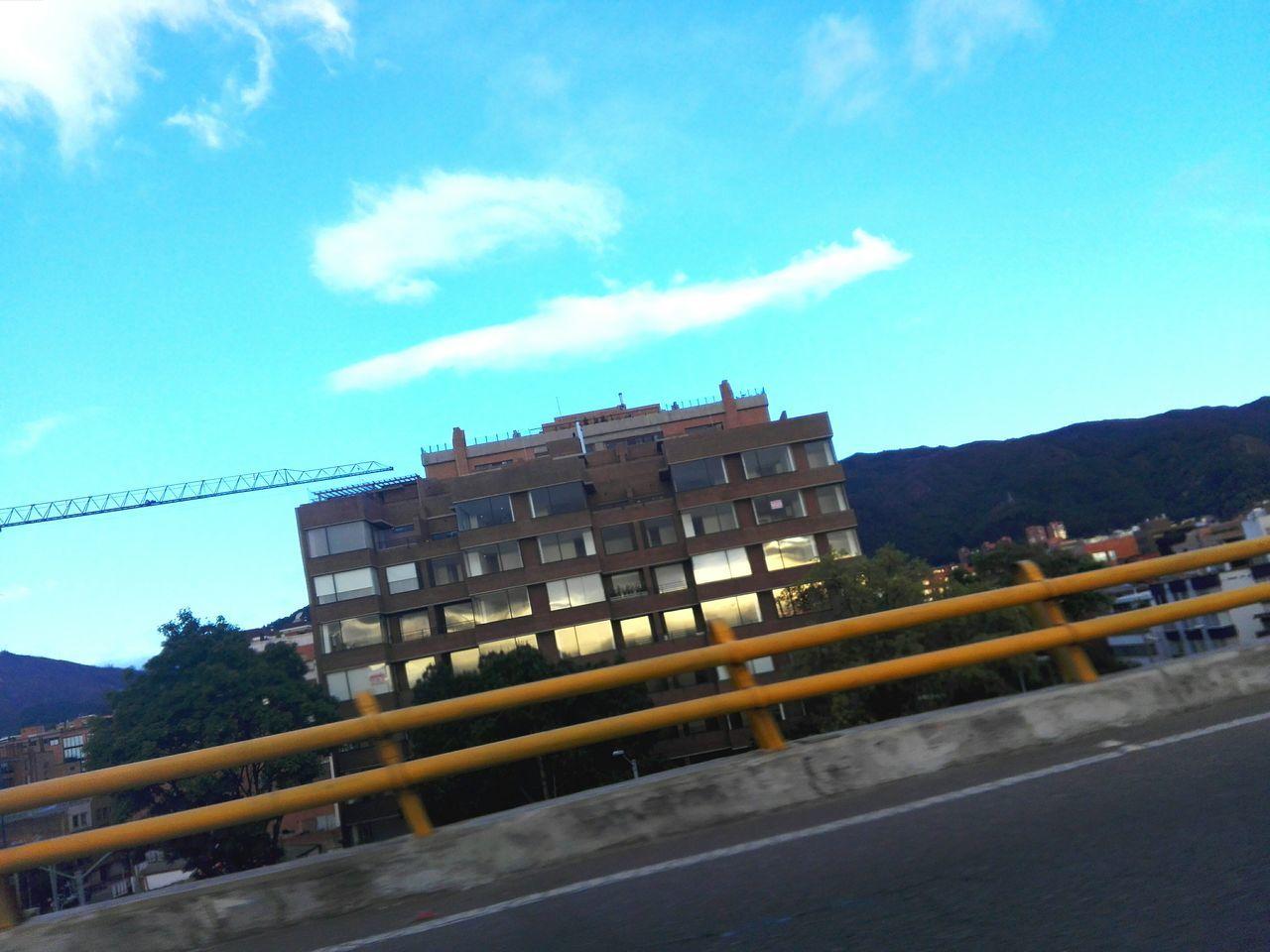 Puentes Street Photography Bogotá Building