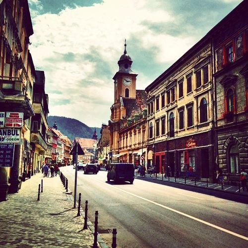 Hello World The Most Beautiful City Old Arhitecture Brasov Pictureoftheday Discover Your City Amazing Photo My Point Of View Throughmyeyes Happy Moments