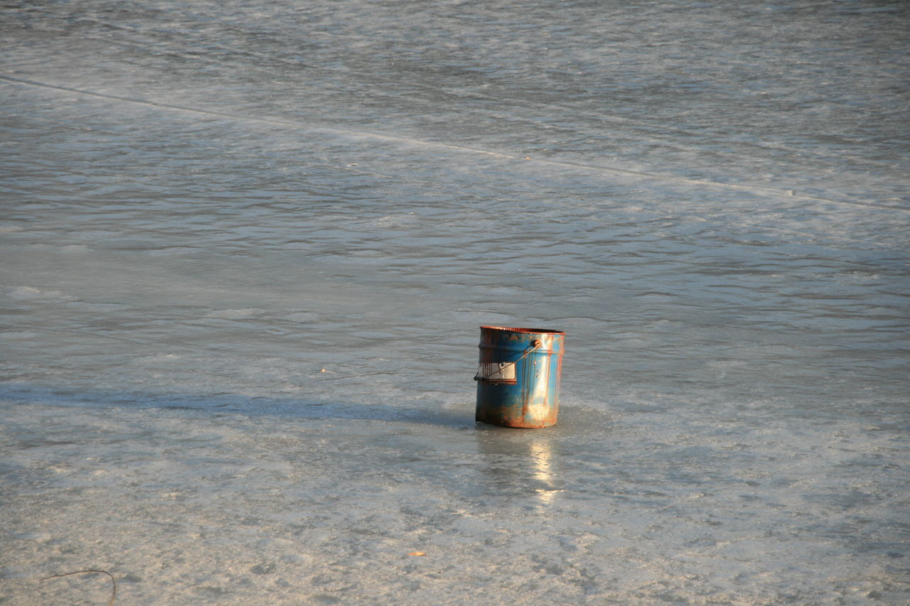 A Tin Of Paint River Spring