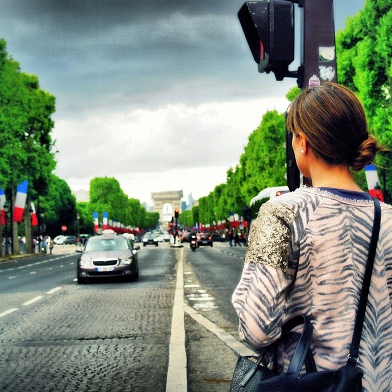 Paris Champselysées Arcdetriomphe