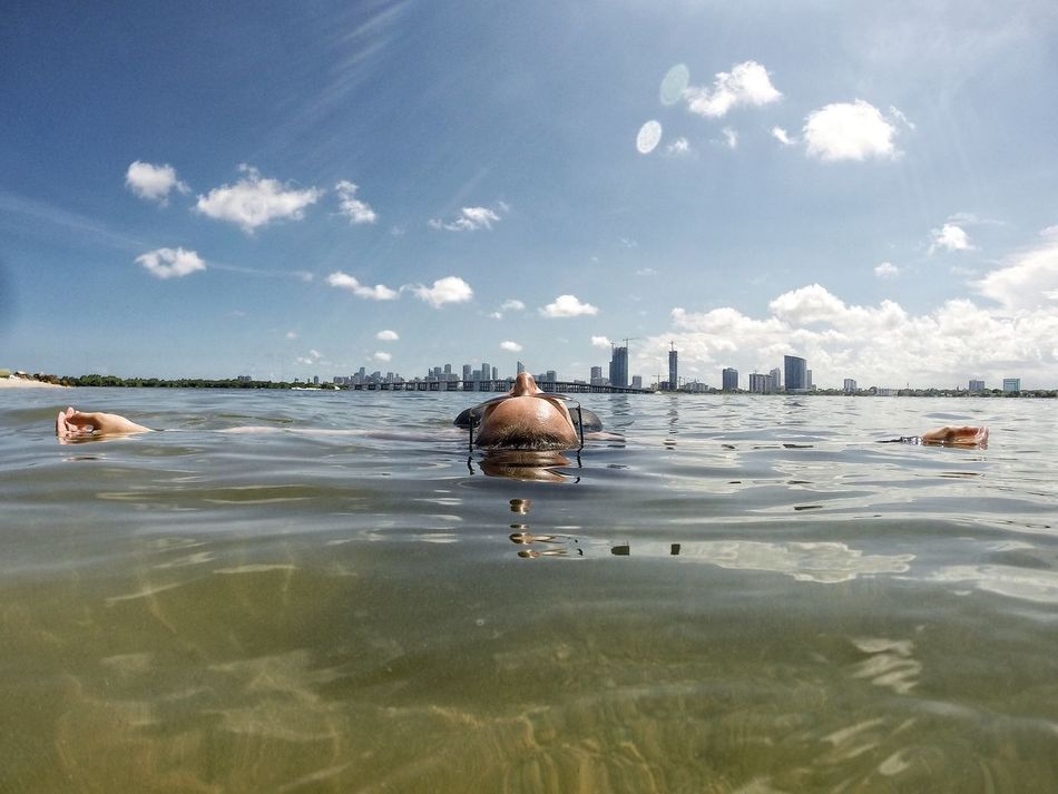 Beautiful stock photos of miami, 35-39 Years, Arms Outstretched, Beauty In Nature, Cloud - Sky