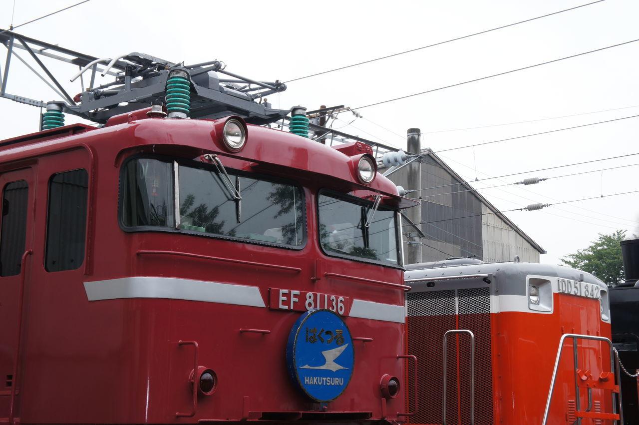 EF81 鉄道 あけぼの DD51