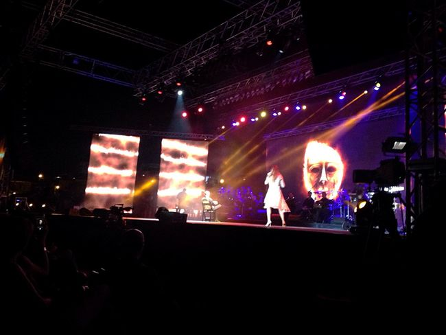 Byblos Siloette Lights Lebanon East Mediterranean Mediterranean  Festival Byblos International Festival Show Music Byblos
