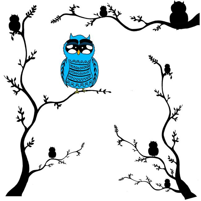 """I'm gonna start to show you my draws that I do for my brand Doctusdesign and after that you'll see those draws in some products. So here is the owl that I call """"El muchengo"""". It is a famous character loved by grown and kids. I draw it by hand and then I paint it digitaly. Hope you all like it :) Drawing Owl Open Edit Handmade Dreaming Happy Love EyeEm Nature Lover Animals"""