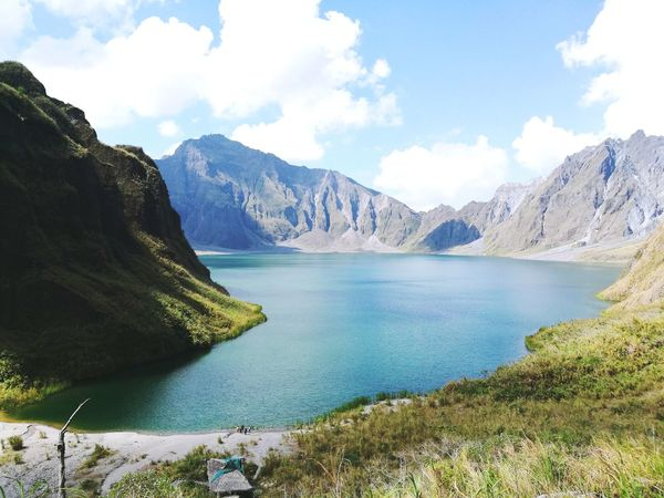 Province Of Philippines Mt Pinatubo Crater Lake Beauty In Nature Worththetrek Worththehike The Great Outdoors - 2017 EyeEm Awards The Week On EyeEm Connected By Travel Perspectives On Nature