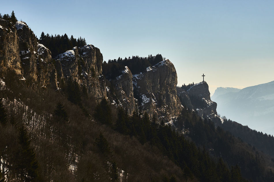 #cliff #cross #France #landscape #Nature  #rockymountains #trekking #travelling #sightseeing Aix Les Bains Beauty In Nature Croix Du Nivolet France Goal Mountain Range Outdoors Sky Tranquility First Eyeem Photo