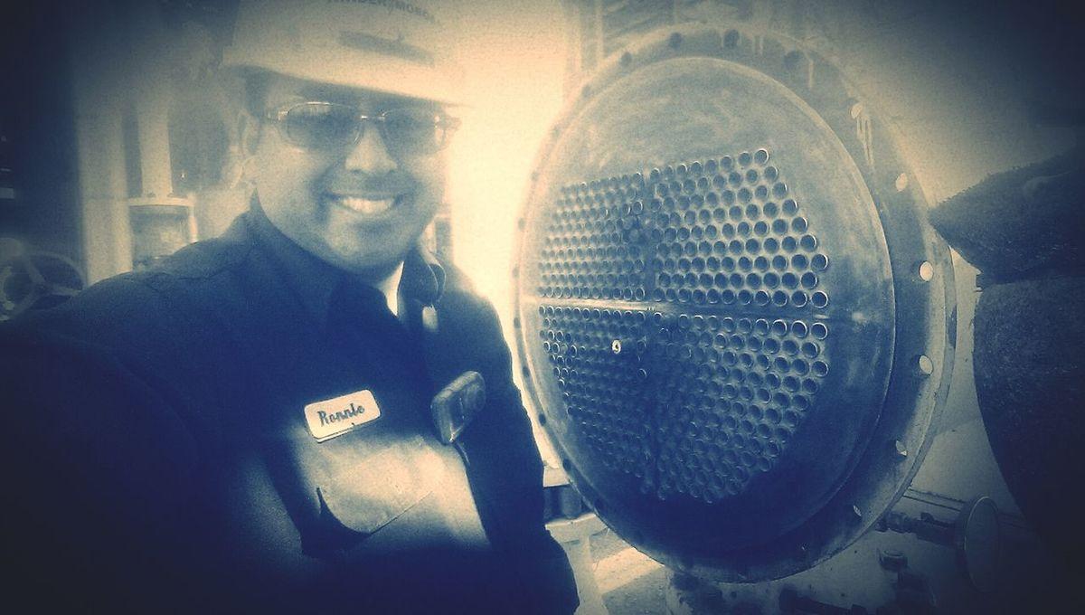 Me at work! KinderMorgan! Enjoying Life Kinder Morgan Gas Plant Rat Working Hard