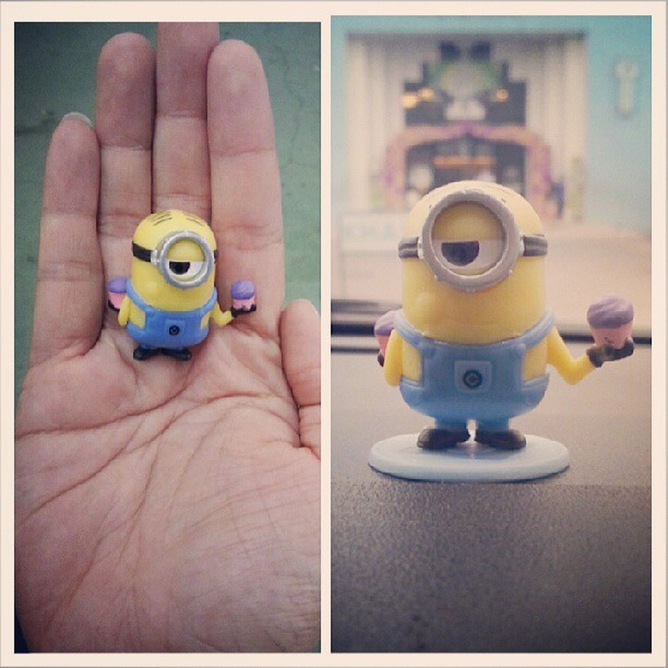 My Stuart Baboi Despicableme2 minions love cute small figure
