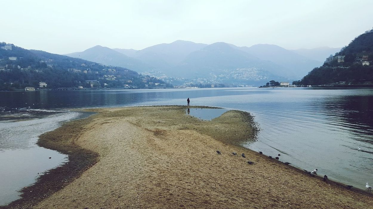 Lakecomo Lake View Nature_collection Winter Showcase: January Taking Photos Hanging Out It's Cold Outside Foggy Day Hazy Shade Of Winter Hazy  Reflection_collection Mountains Scenic View Enjoying The View Beautiful Nature EyeEm Best Shots EyeEm Nature Lover Eye4photography