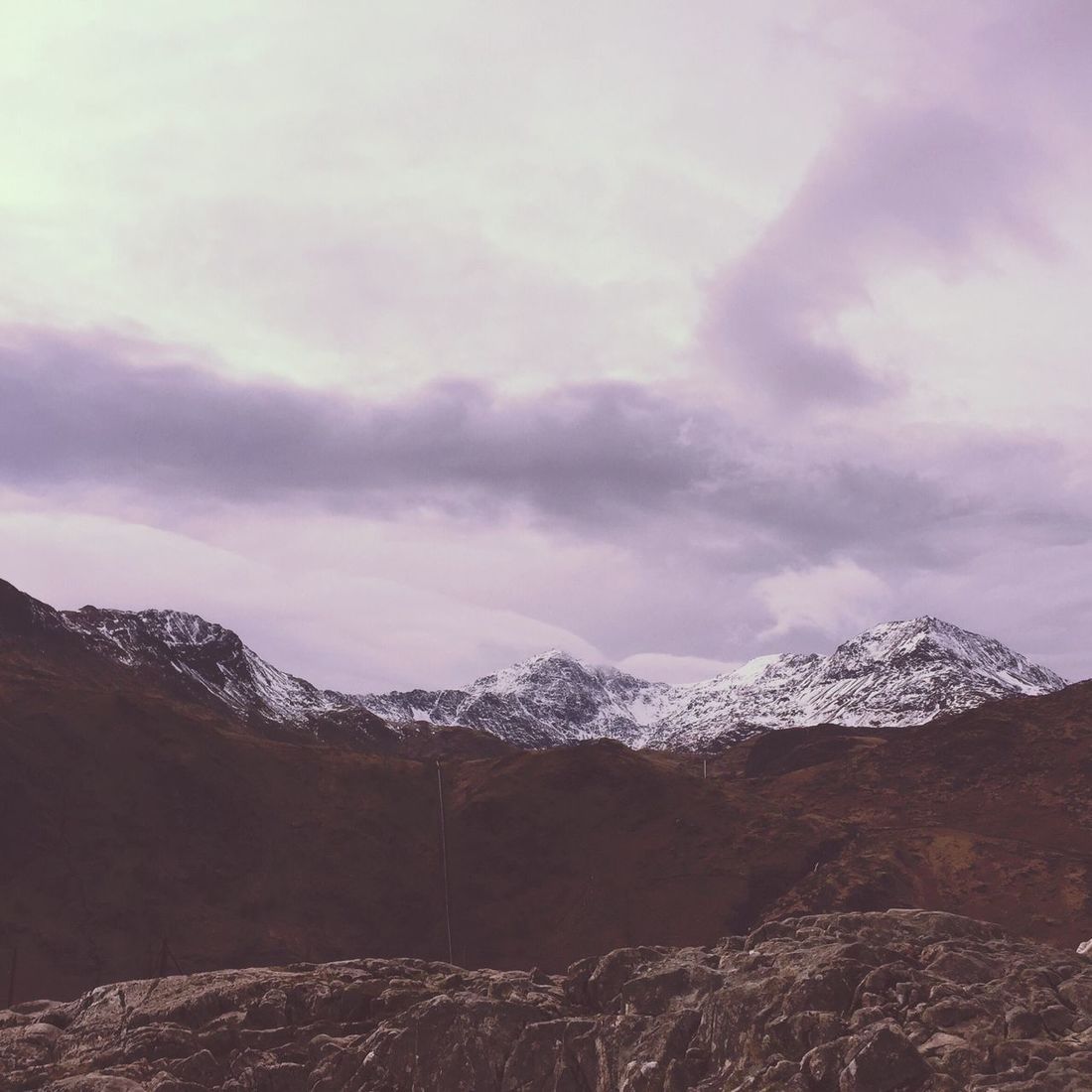 Snowdon Mountains. 2015. Snowdonia Snow Wales Cymru Landscape Beautiful Nature