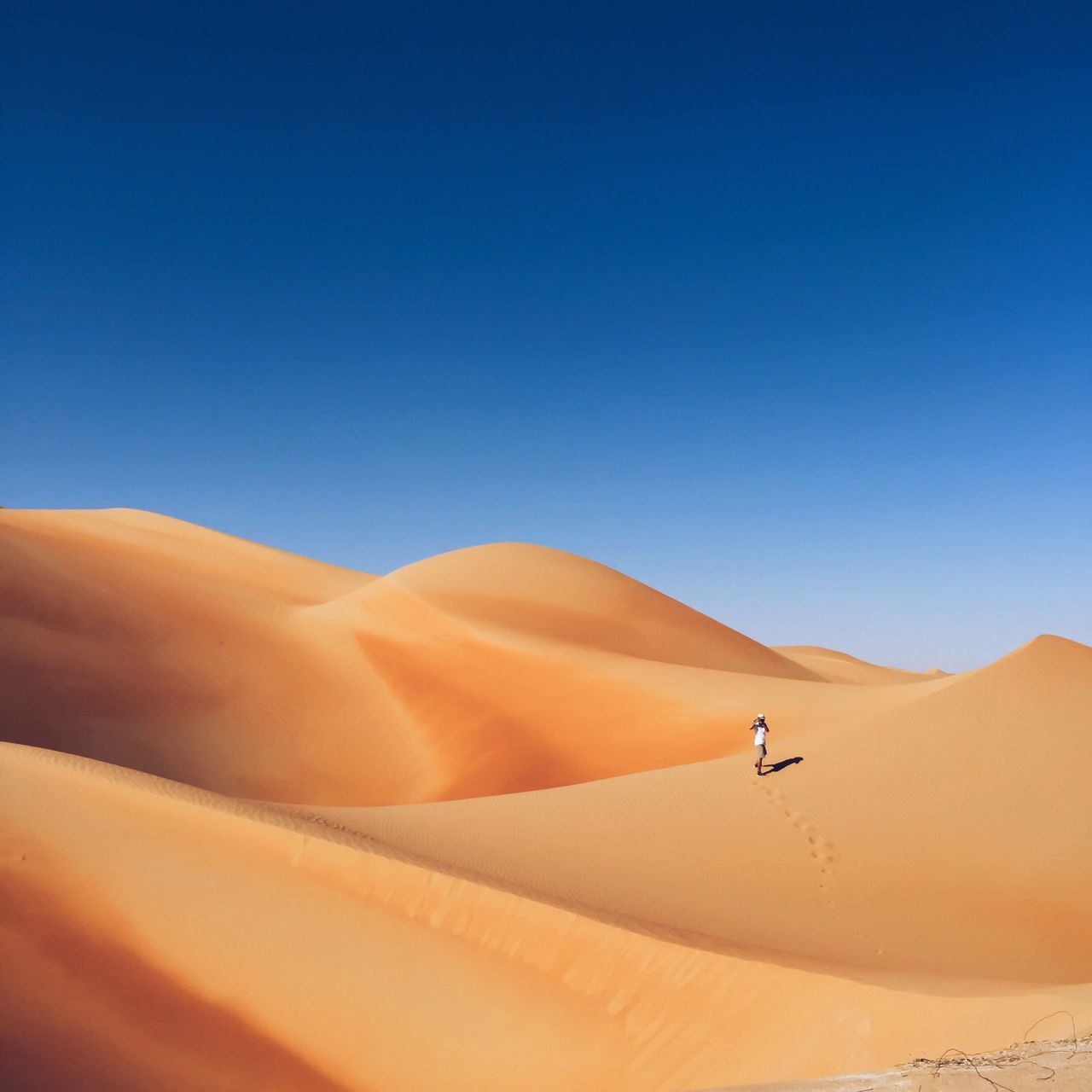 Beautiful stock photos of desert, Arid Climate, Beauty In Nature, Blue, Brown