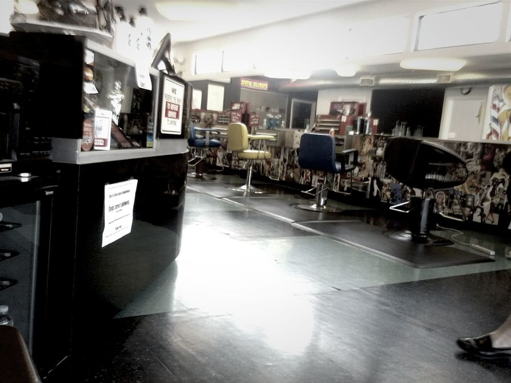 haircut at Shorty's Barbershop by Aaron Montgomery