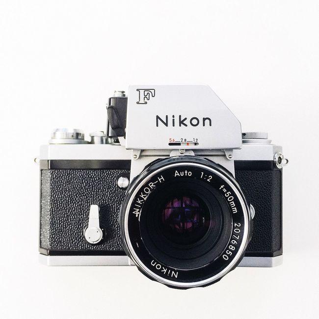 Classic Nikon f 35mm film camera 1968 Nikon F Classic Photomic Ftn 35mm Film Camera Iconic Design Real Film Vintage Photography