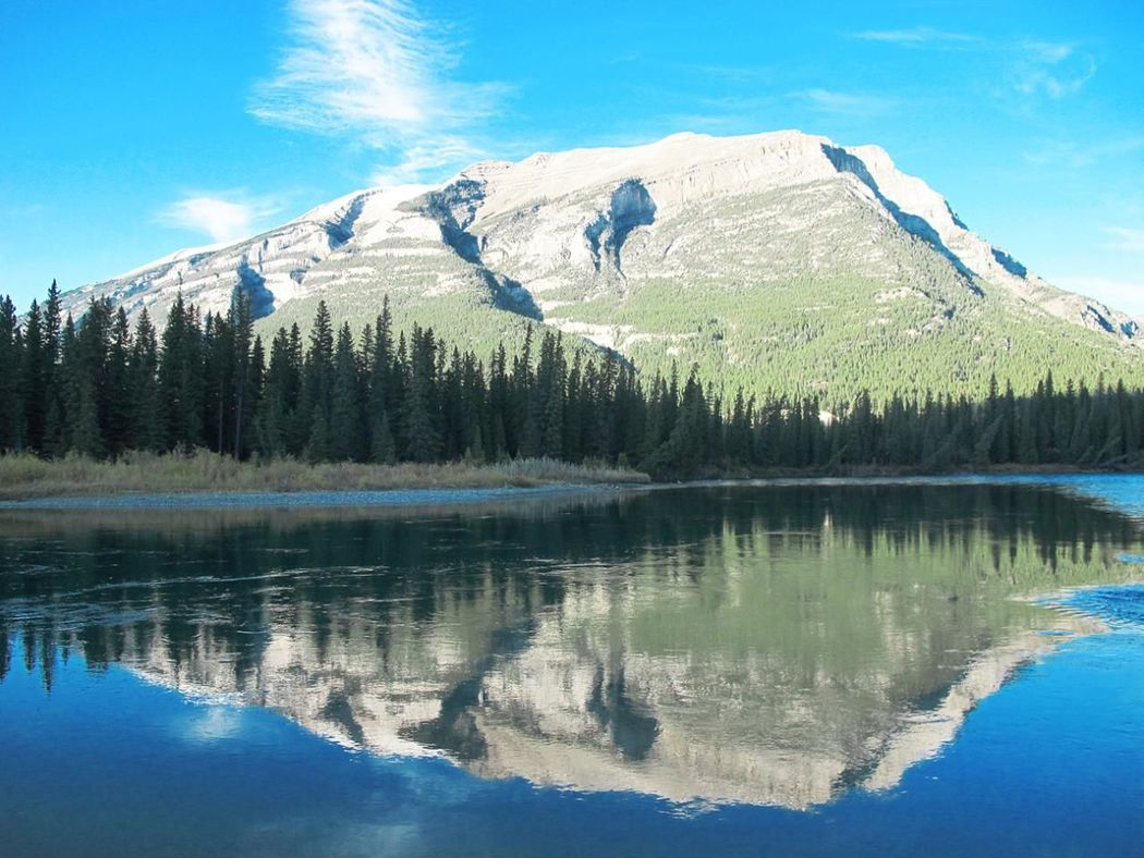 Rockies Rocky Mountains Reflection Beauty In Nature Nature Photography Nature Lover EyeEm Nature Lover Shallow Stream Banff  Banff National Park  Landscape Alberta Canada