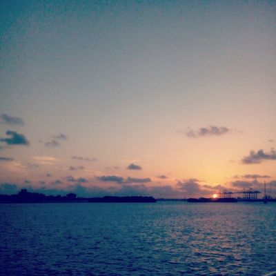 Sunset Boattrip Kerala Backwaters
