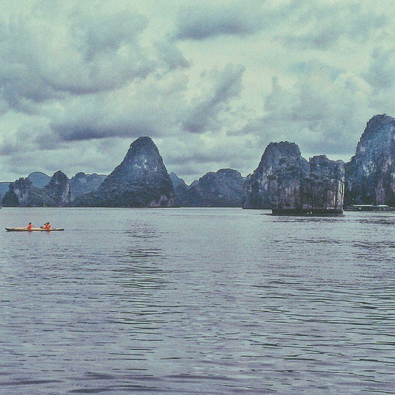 Htc8x VSCO Vscothailand Vscocam Vscocamgram Vscocamthailand Adayinthailand Halongbay Vietnam