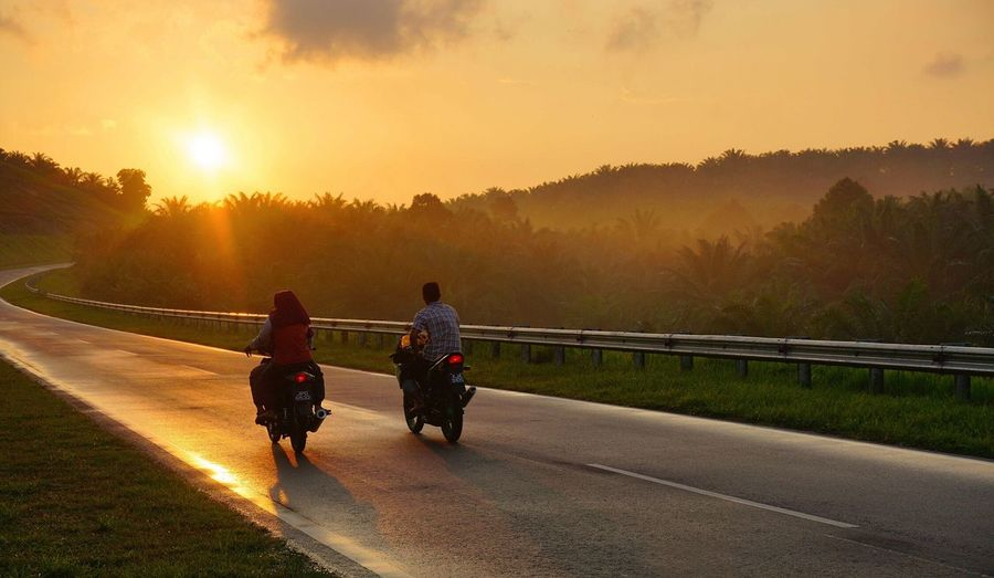 43 Golden Moments Riding Bike Go Home Sunset Every Moment