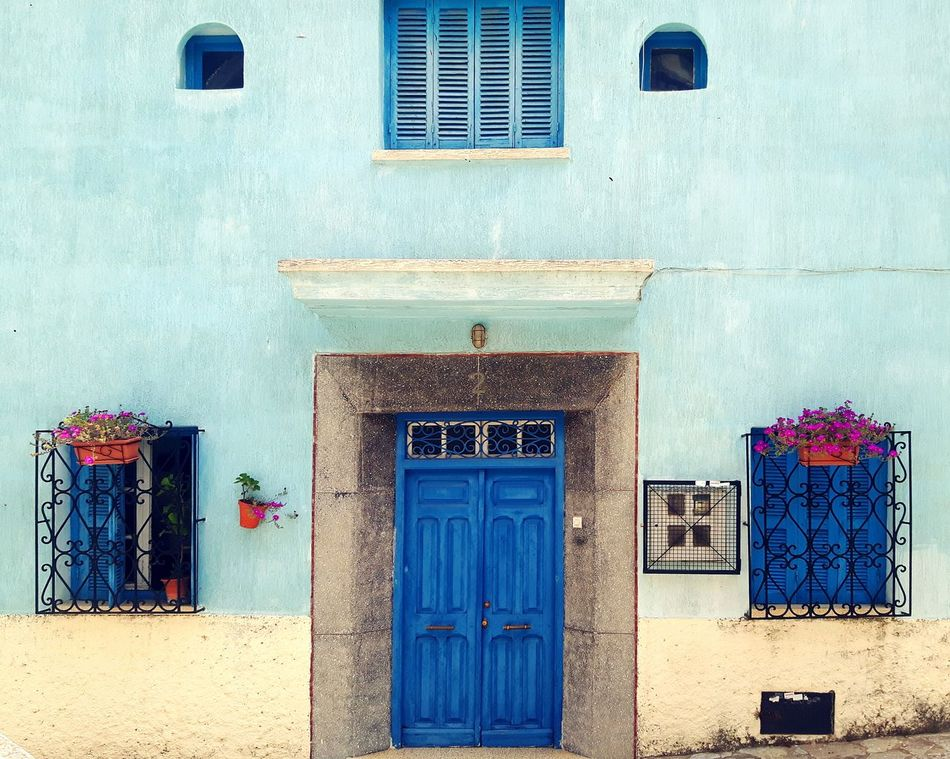 Spring Springtime Blue Door Streetphotography Colorful Relaxing Lovely Weather Calm Tangier Morocco